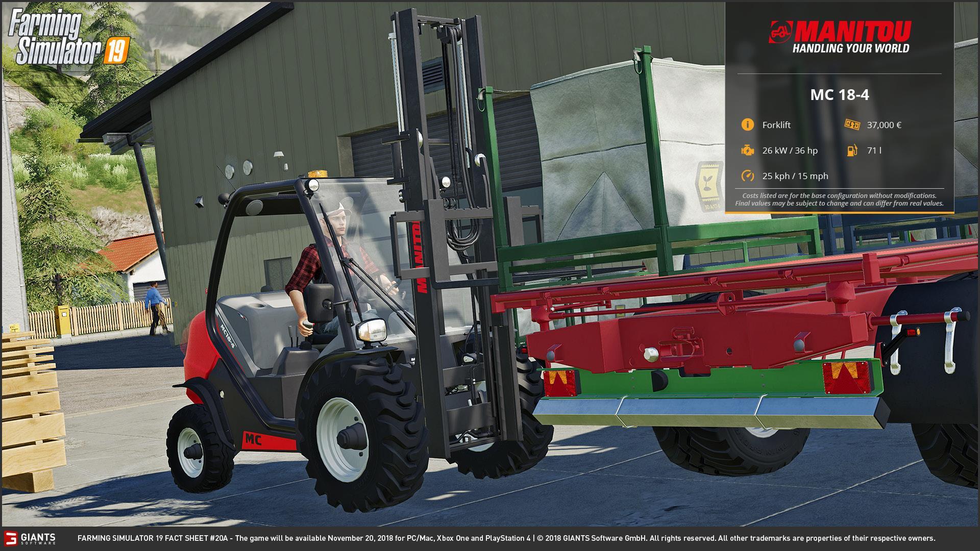 Farming simulator 19 FACT SHEET #9 LS 19 - Farming simulator