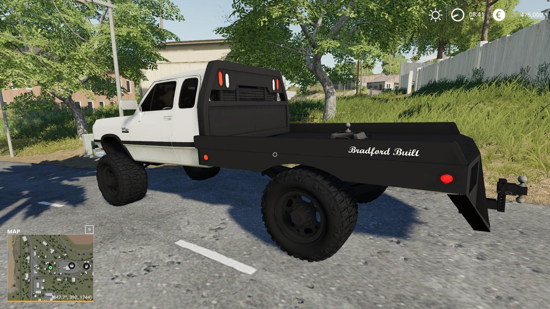 1st Gen Cummins Flatbed V2 0 Fs 19 Farming Simulator 17 2017 Mod