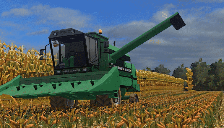 Đuro Đaković MK1620H LS19 - Farming simulator 17 / 2017 mod