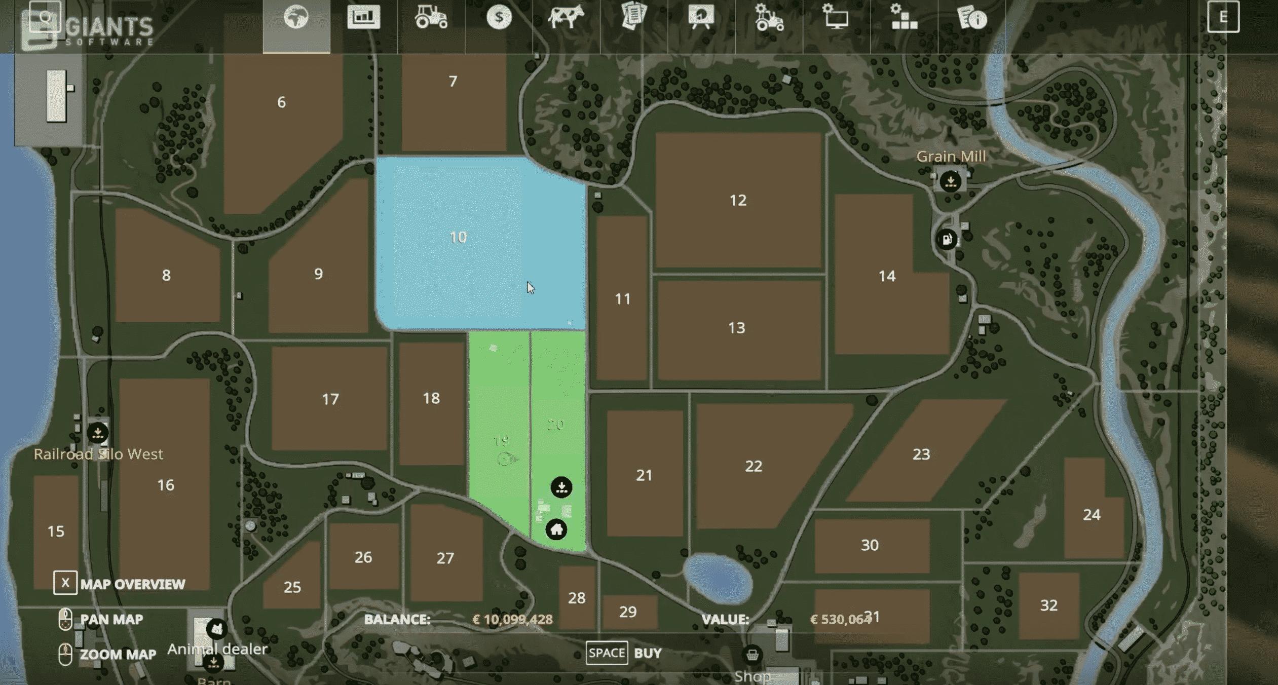 Farming Simulator 19: Buildings, Combines, Vehicles, Maps FS