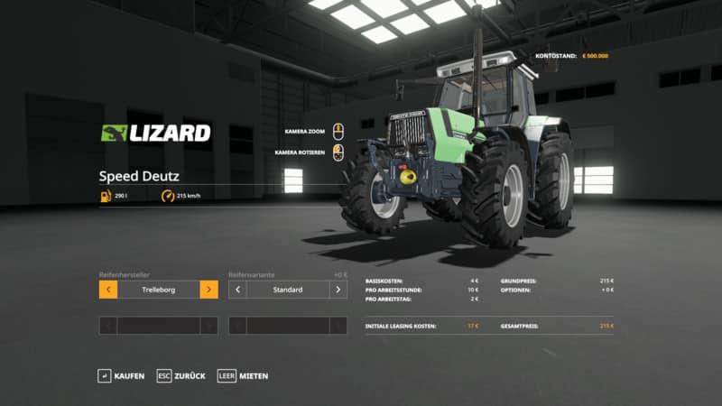 Speed tractor V1 0 5 FS19 - Farming simulator 17 / 2017 mod
