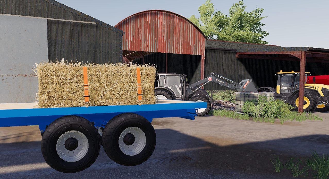 Stewart GX15 Trailer FS19 - Farming simulator 17 / 2017 mod