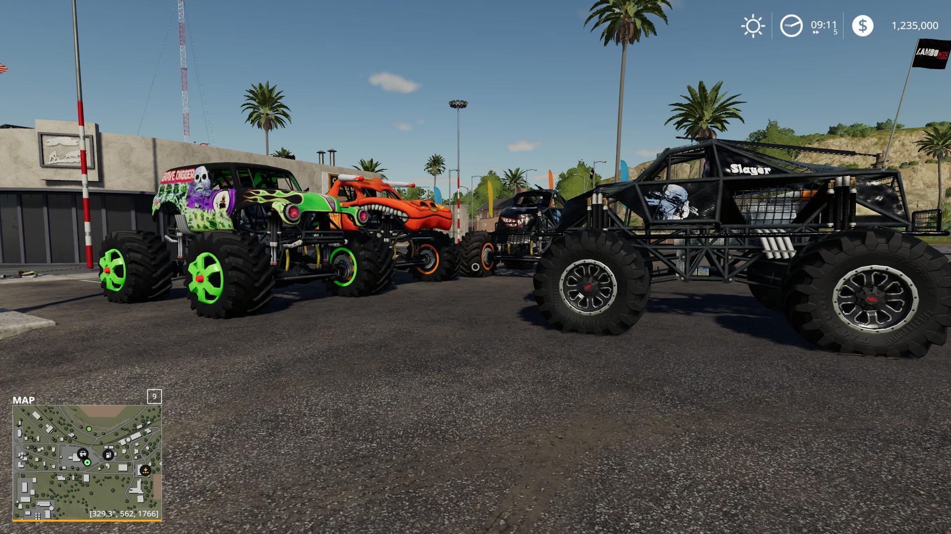 El Toro Loco Monster truck v1 0 Mod - Farming simulator 17