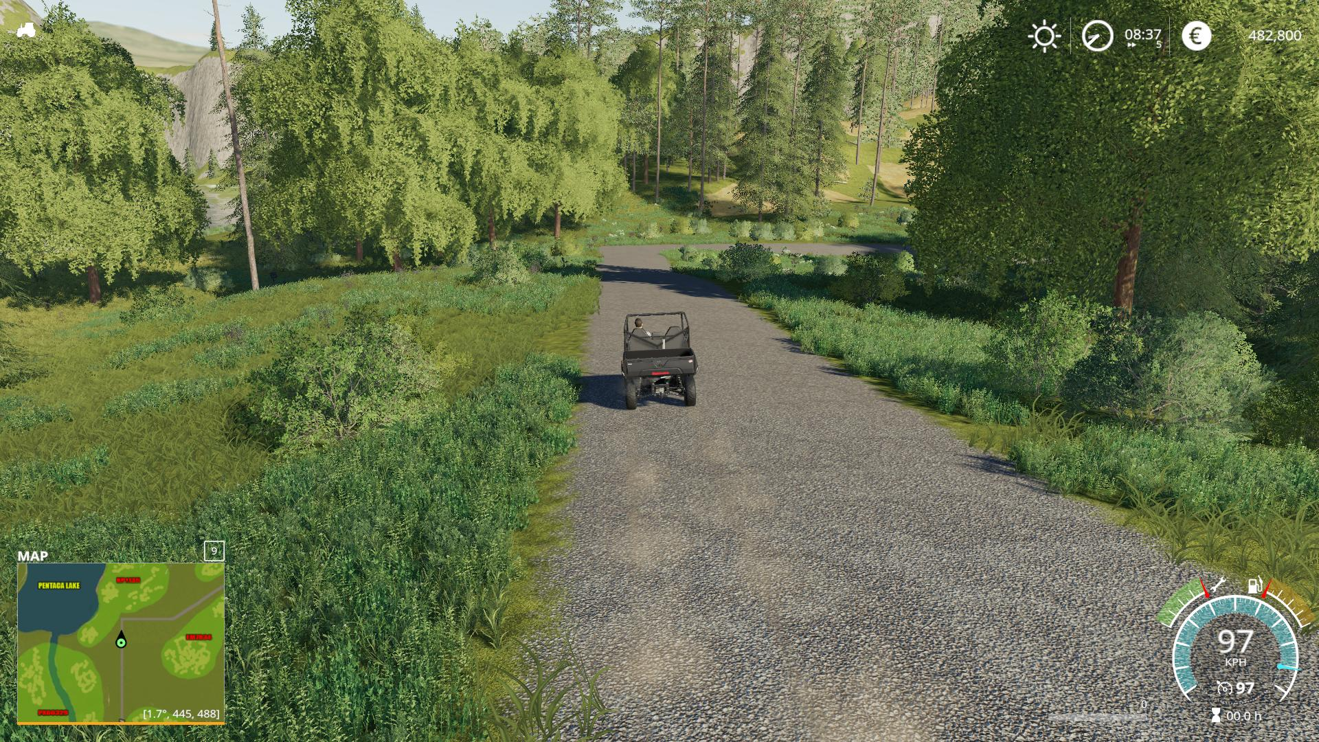 Grizzly Mountain Logging v1 0 0 Map FS 19 - Farming