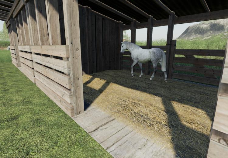 Horse stud v2 0 LS19 - Farming simulator 17 / 2017 mod