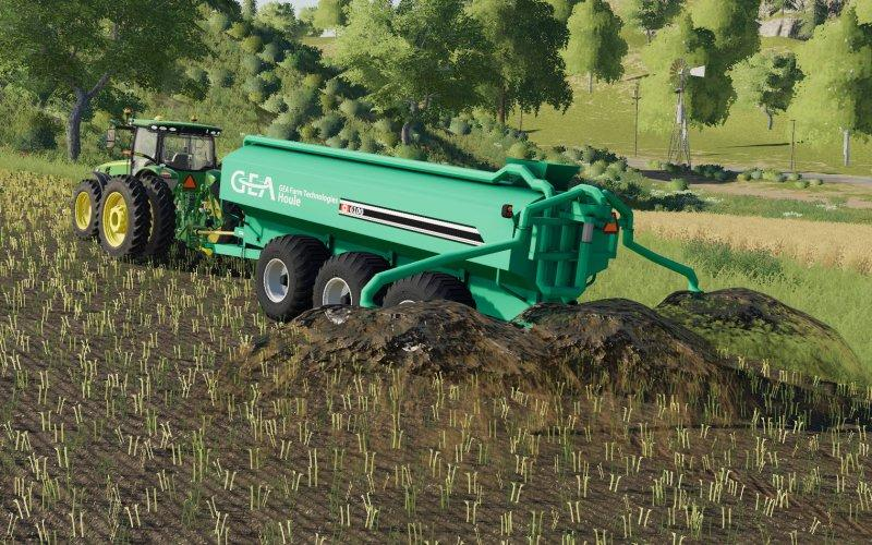 Houle Pack With Ramps v1 0 0 0 Trailer FS 19 - Farming simulator 17