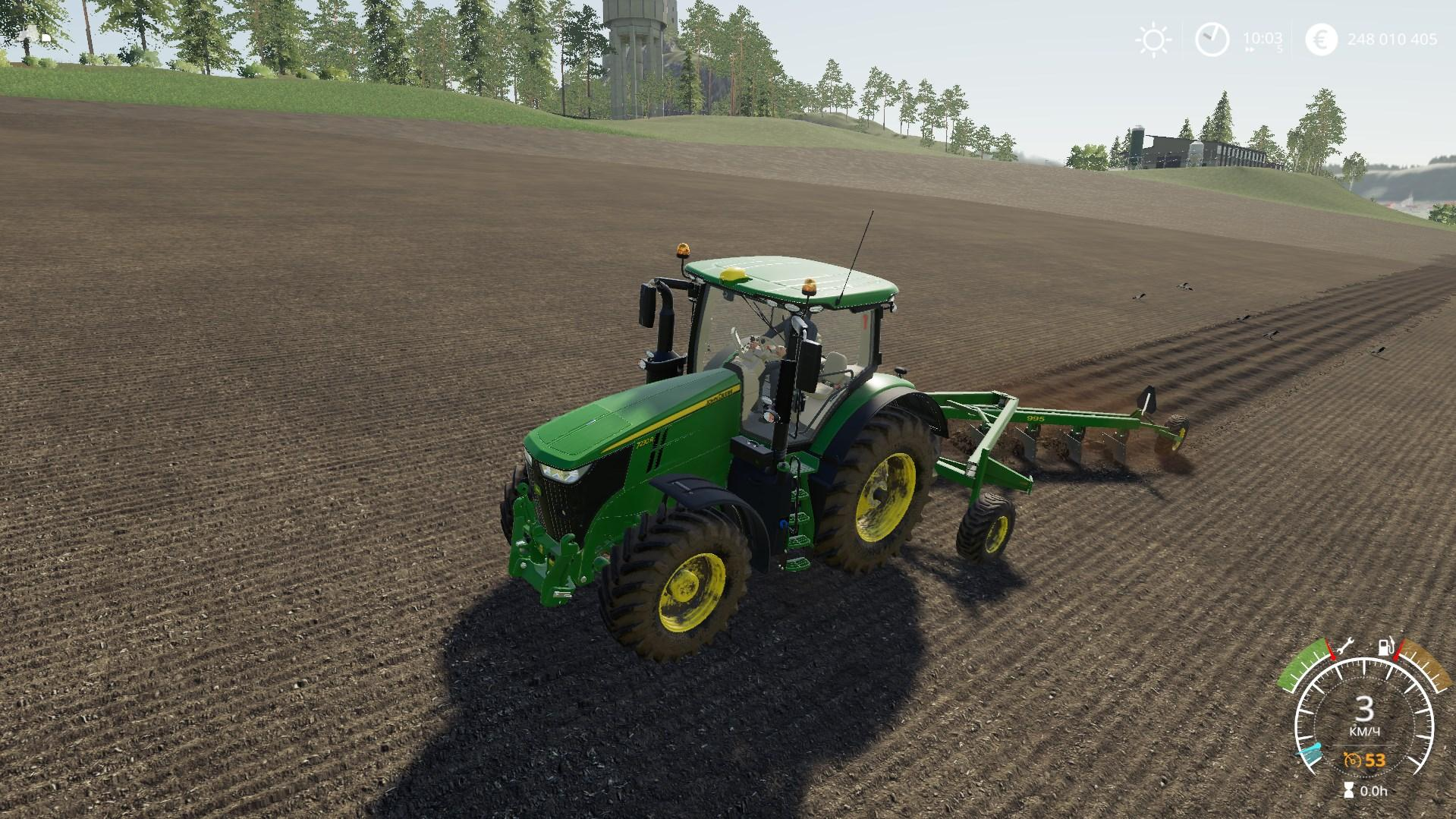 John Deere 995 v1 0 0 0 FS 19 - Farming simulator 17 / 2017 mod