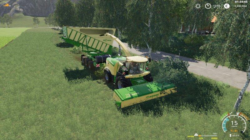 Krone Cargo v1 0 0 1 Trailer LS 2019 - Farming simulator 17 / 2017 mod