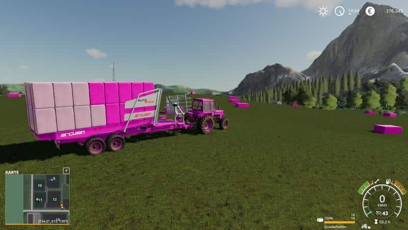 Kuhn Bale Pack Snu Edition v1 0 FS19 - Farming simulator 17 / 2017 mod
