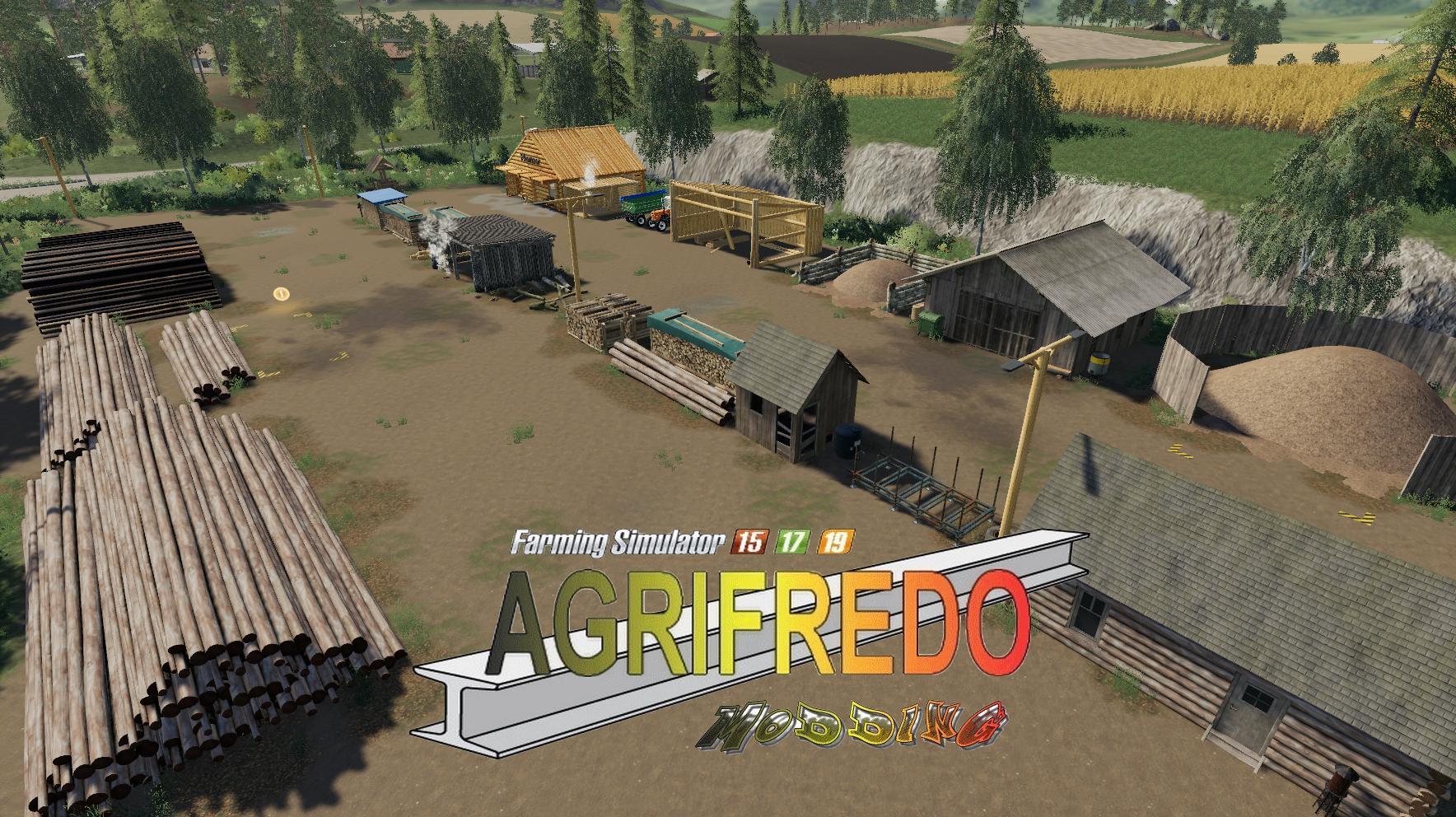 La colonne de bronze v1 0 Map FS 19 - Farming simulator 17