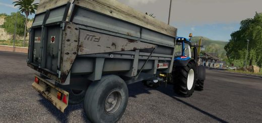 Lizard 51ft Autoloader v1 0 0 0 Trailer LS 19 - Farming