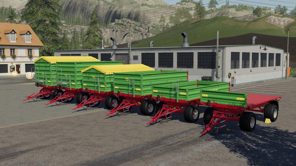 Strautmann SZK 802 v1 0 0 0 Trailer FS19 - Farming simulator