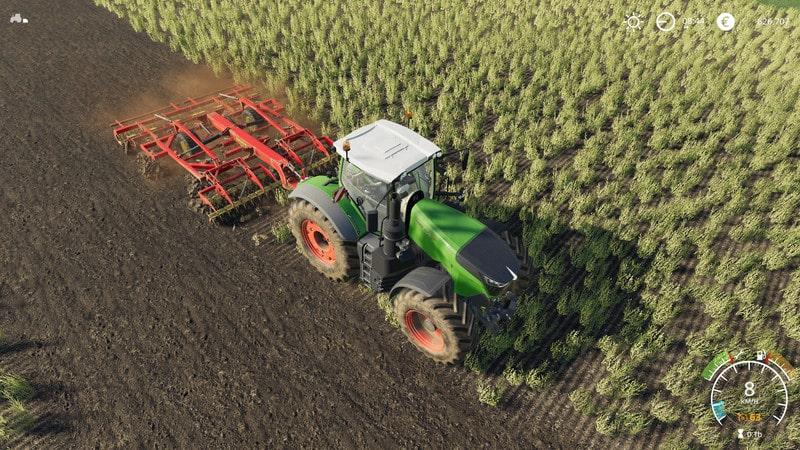Vaderstad topdown 500 V 1 0 FS19 - Farming simulator 17 / 2017 mod