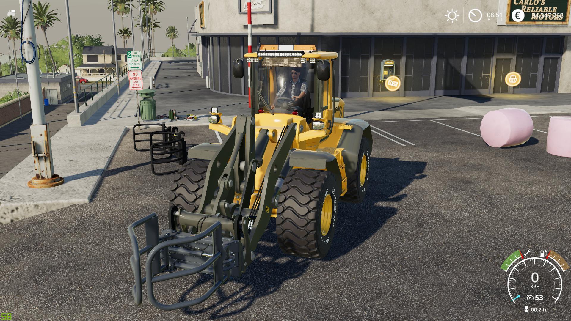 Volvo F L60-L90 And tools v2 5 0 0 FS19 - Farming simulator