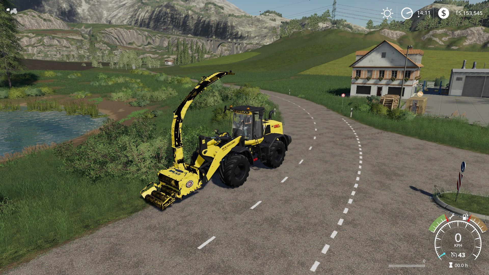 Bruks All In One v1 3 LS 2019 - Farming simulator 17 / 2017 mod