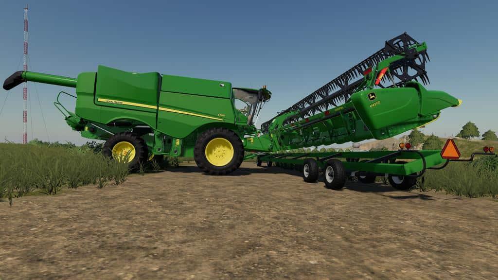 Elmer's Cutter Trailer v1 0 0 0 LS19 - Farming simulator 17