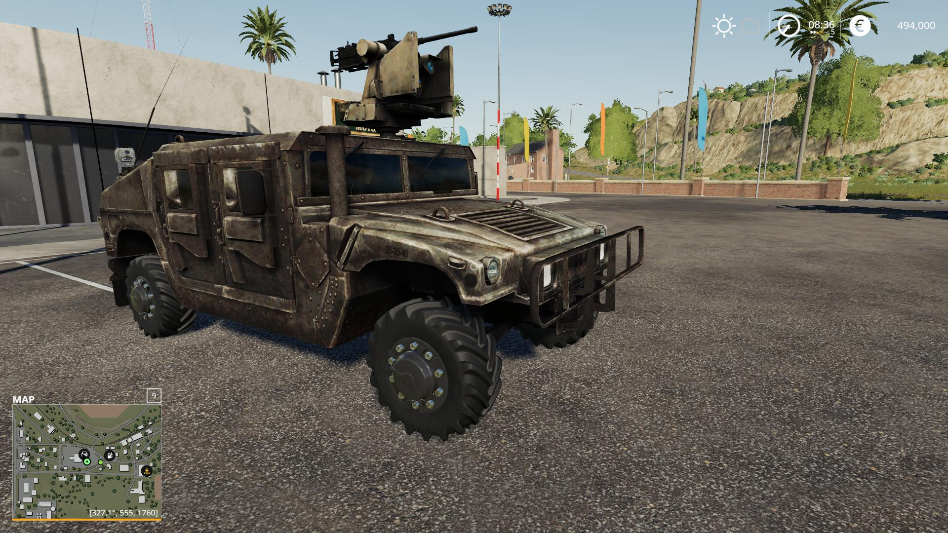 Humvee tactical v1 0 LS 2019 - Farming simulator 17 / 2017 mod