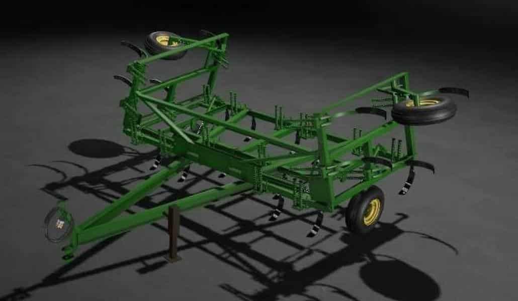 John Deere 1600 chisel plow v1 0 0 0 FS 19 - Farming simulator 17