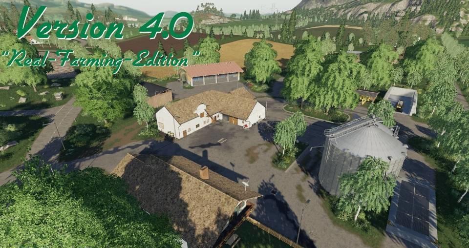 Felsbrunn v4 0 - Real Farming Edition FS19 - Farming simulator 17