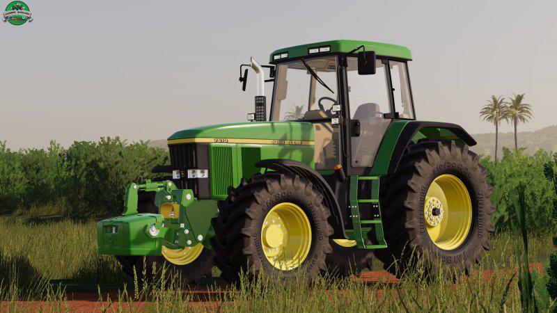 John Deere 7010 Series v1 1 0 0 Tractor FS 2019 - Farming