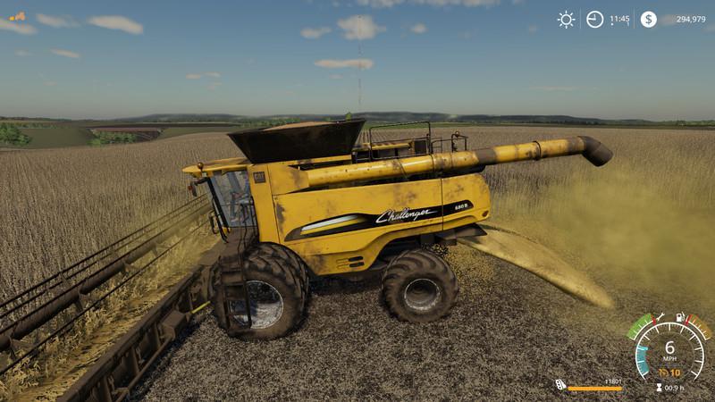 Agco Challenger 680b Ernester v1 0 Combine LS 19 - Farming