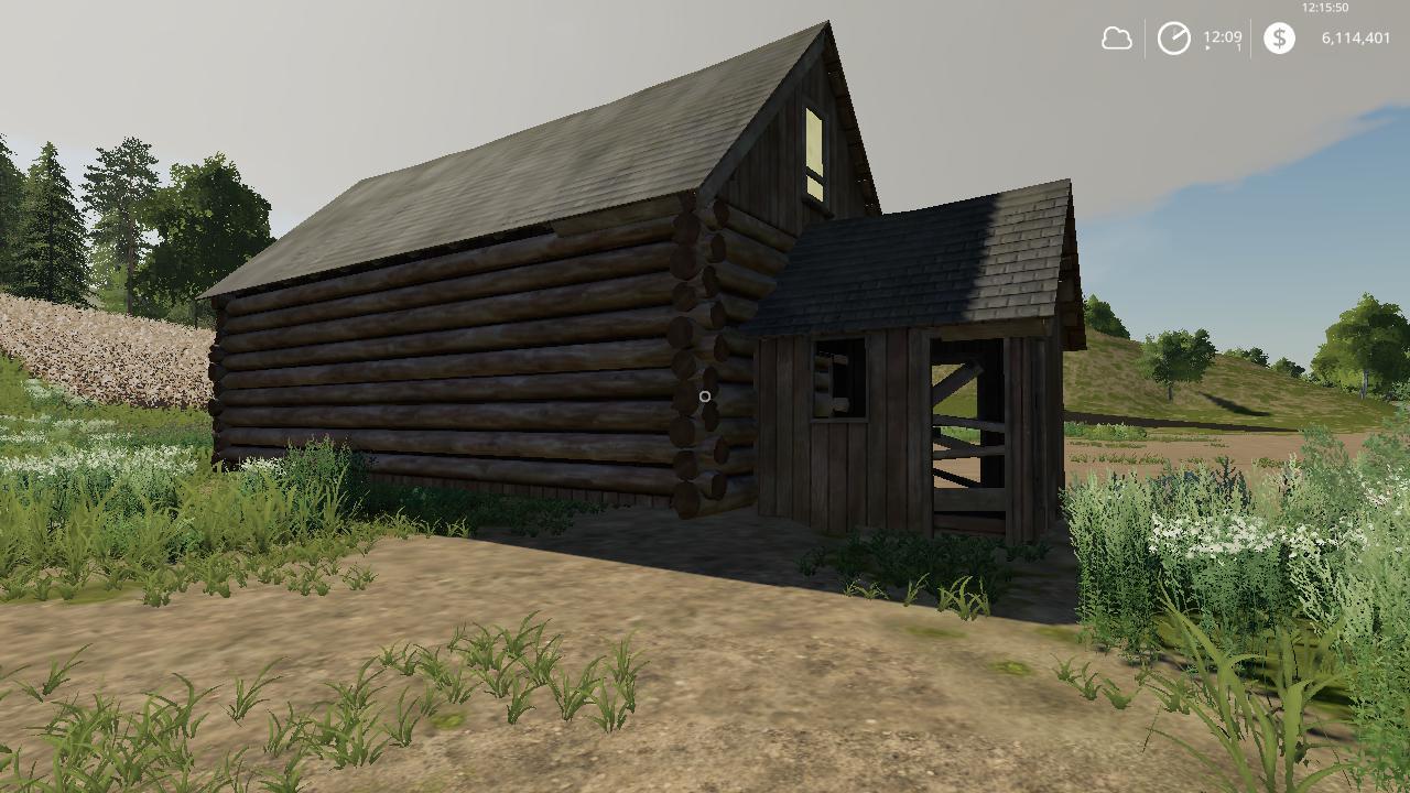 Log cabin v1 0 FS 19 - Farming simulator 17 / 2017 mod