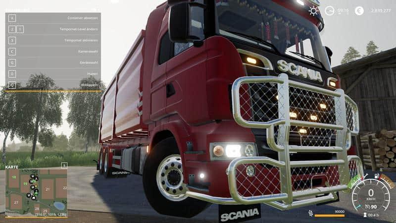 Scania R730 HKL v1 0 0 4 Truck FS 19 - Farming simulator 17 / 2017 mod