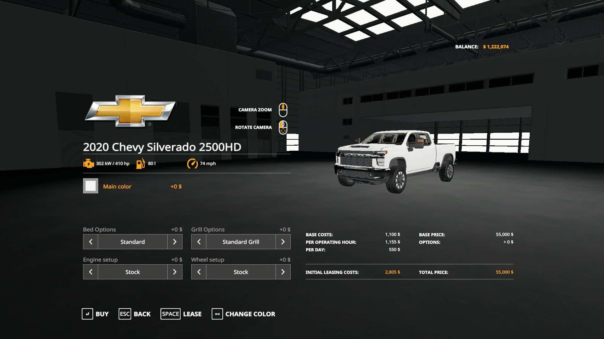2020 Chevy Silverado 2500HD Duramax v1.0 FS 19 - Farming ...