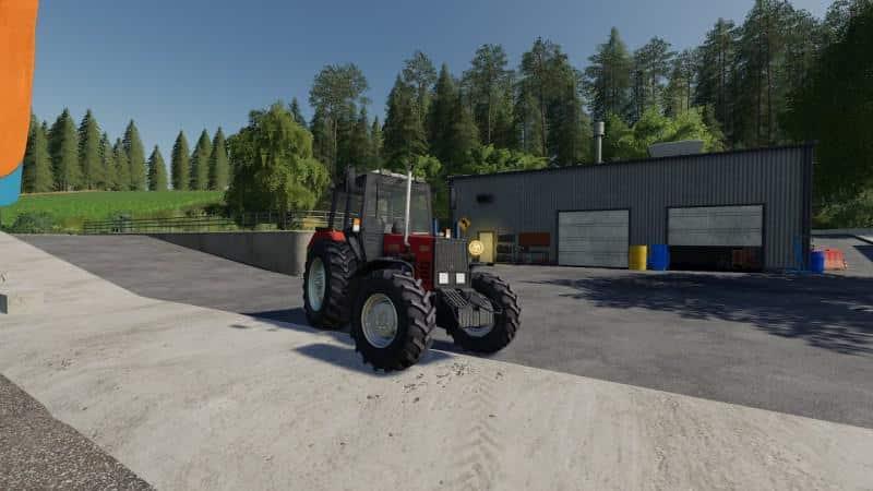 MTZ 892 v1 0 0 0 Tractor FS19 - Farming simulator 17 / 2017 mod
