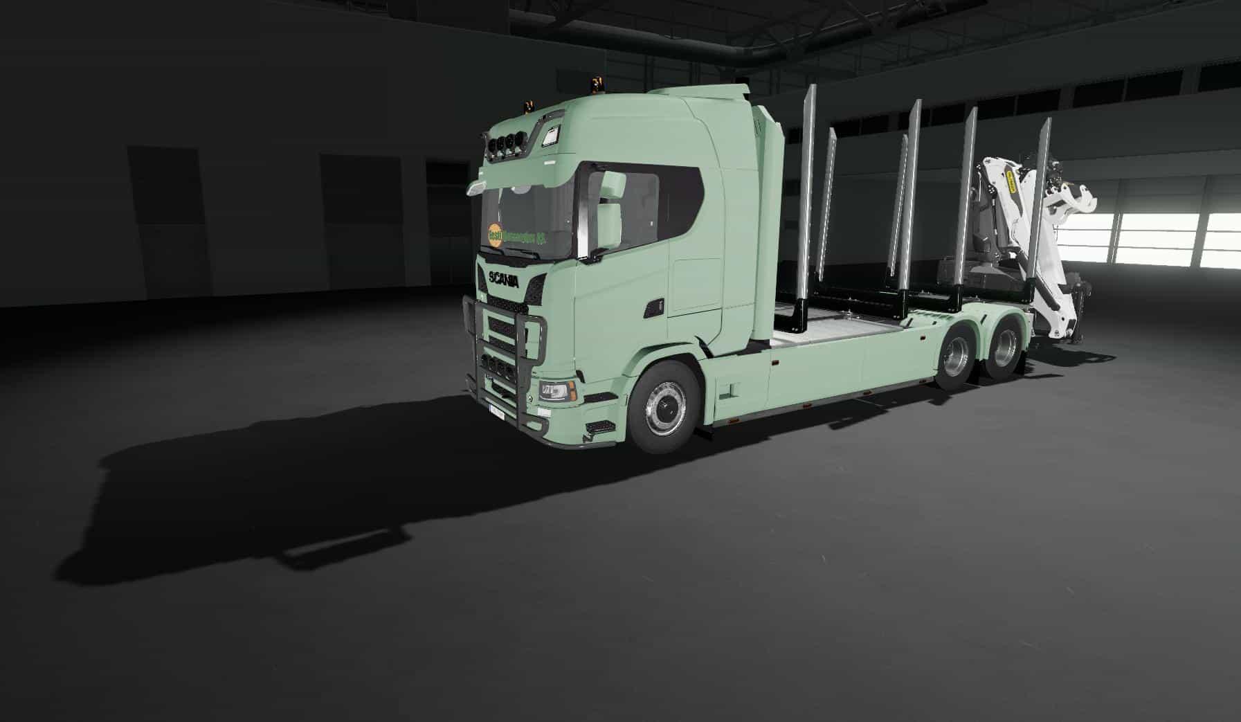 Scania R730 v2 1 Truck FS 19 - Farming simulator 17 / 2017 mod