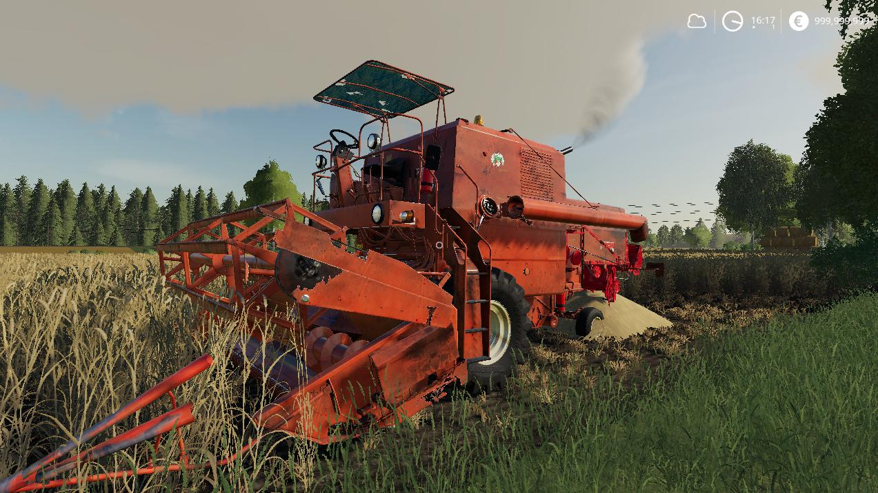 Bizon z056 Old v2 0 0 0 FS19 - Farming simulator 17 / 2017 mod