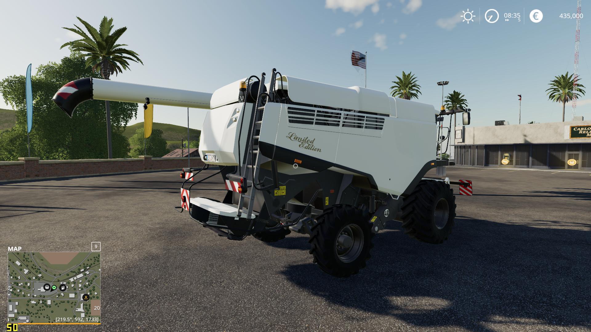 Class Lexion 795 Vyciuzz Edition (White) v2 0 0 3 LS 19