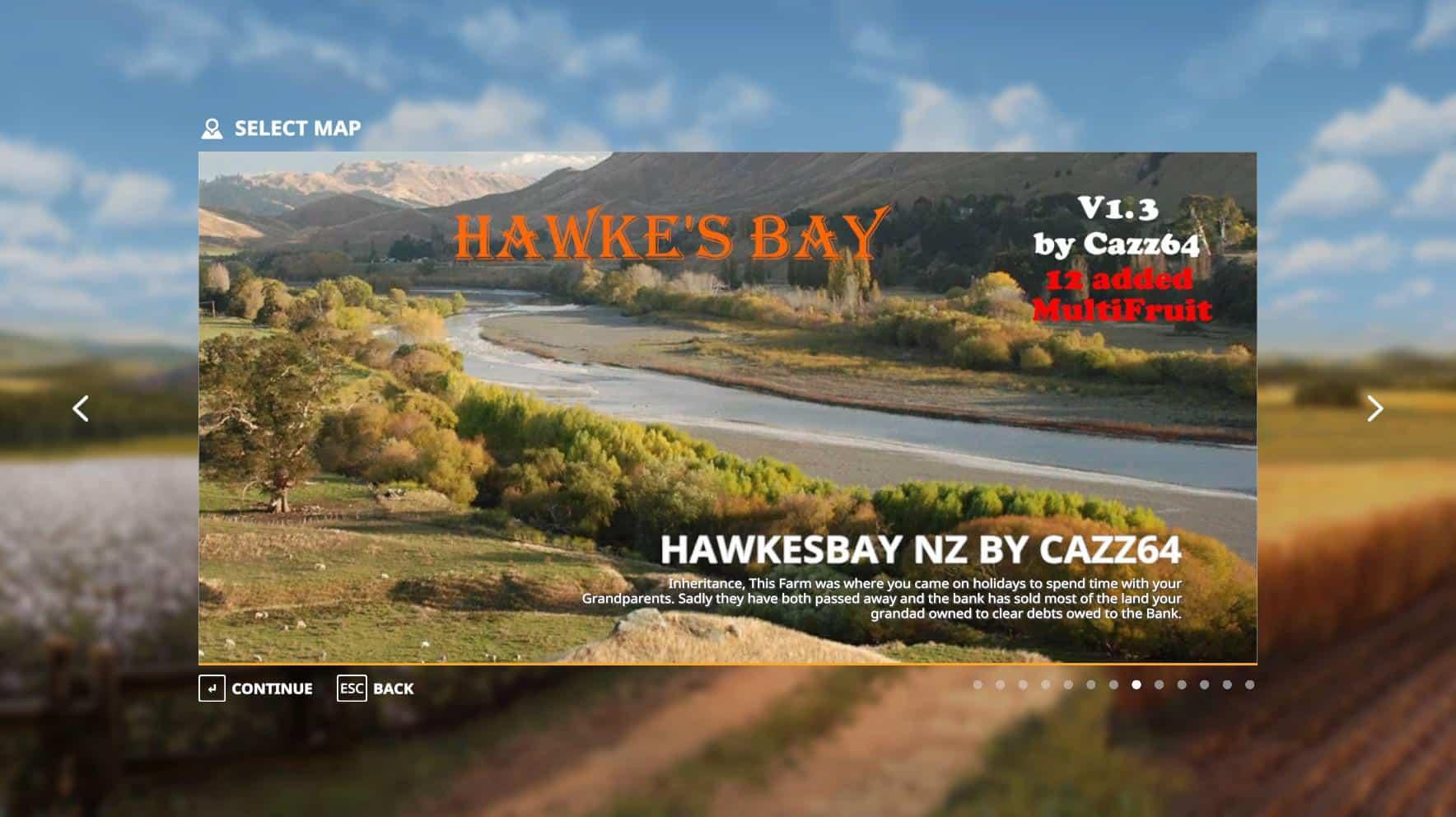Hawke's Bay NZ map v1 3 FS 19 - Farming simulator 17 / 2017 mod