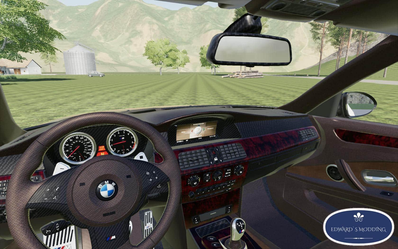 BMW M5 E60 v1 0 LS 19 - Farming simulator 17 / 2017 mod