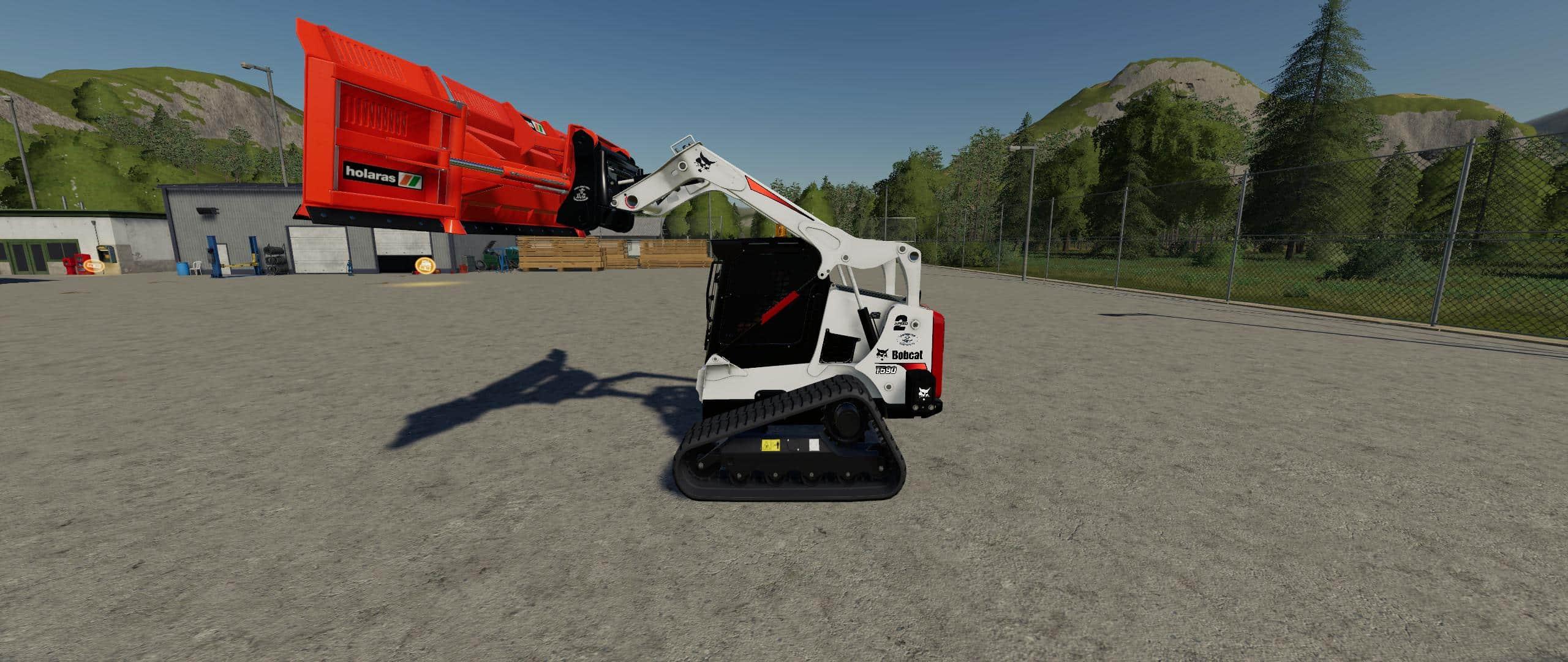 CSM Bobcat 590 Series Skid Steer Pack v1 1 0 FS 19 - Farming