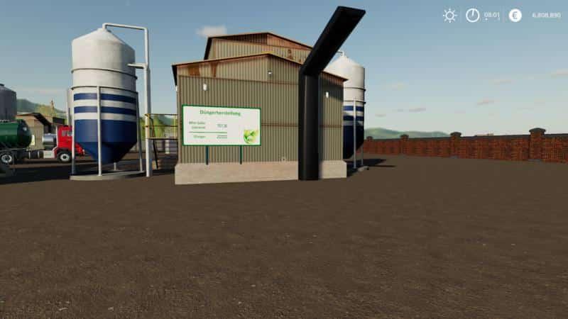 Fertilizer production v1 0 5 0 FS 19 - Farming simulator 17 / 2017 mod