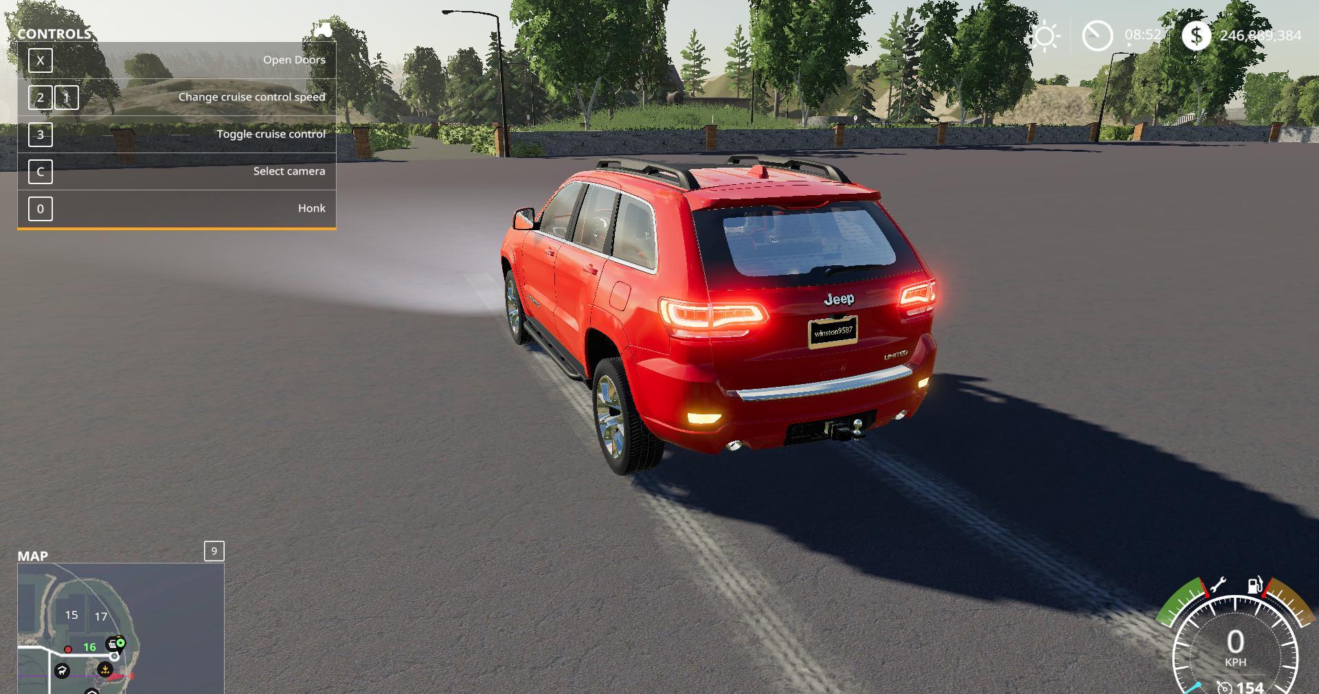 Jeep Cherokee v1 0 0 0 Mod - Farming simulator 17 / 2017 mod