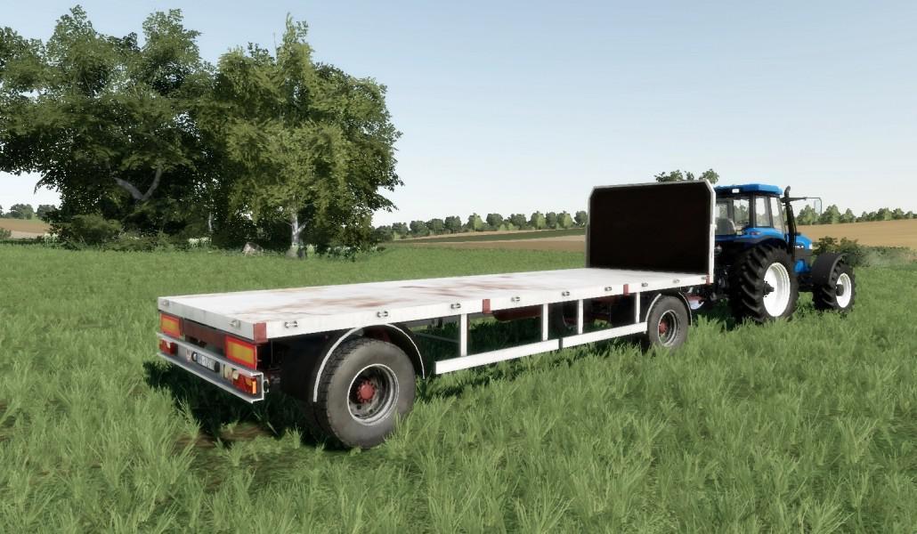 Homemade bale trailer SUN 2005 v1 0 FS19 - Farming simulator 17
