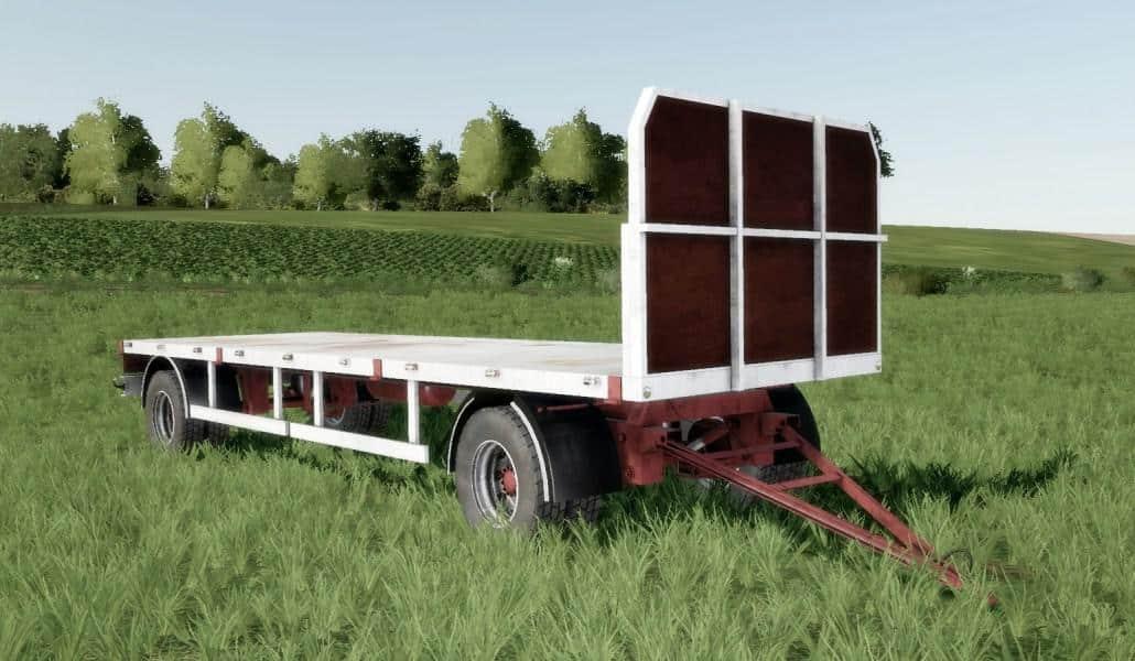 Homemade bale trailer SUN 2005 v1 0 FS19 - Farming simulator