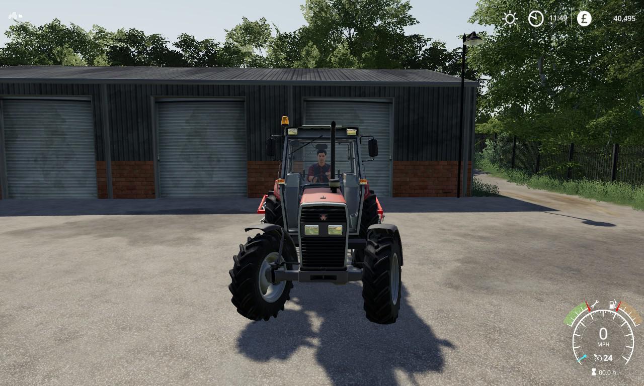 Massey Ferguson 390t v1 0 Mod - Farming simulator 17 / 2017 mod