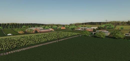 Yogiland 19 1 EN v1 0 Map Mod - Farming simulator 17 / 2017 mod