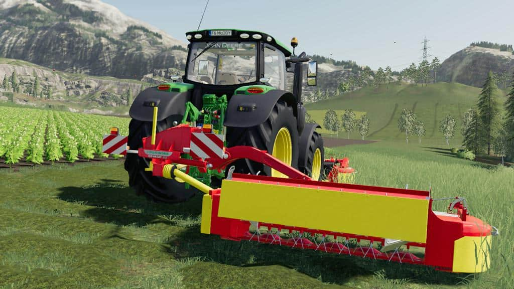 Pottinger Novacat 302ED v1 0 0 0 FS19 - Farming simulator 17 / 2017 mod