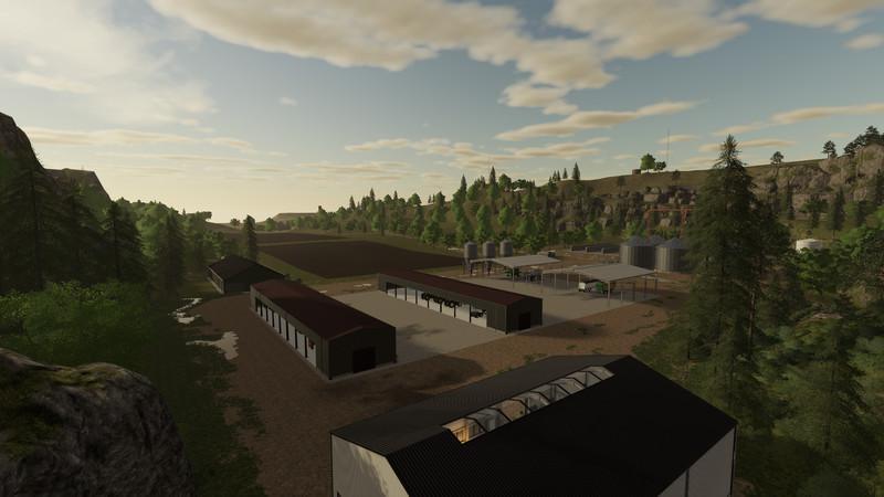 Ravenport McKnightG Edition v2 0 1 0 Map FS 19 - Farming