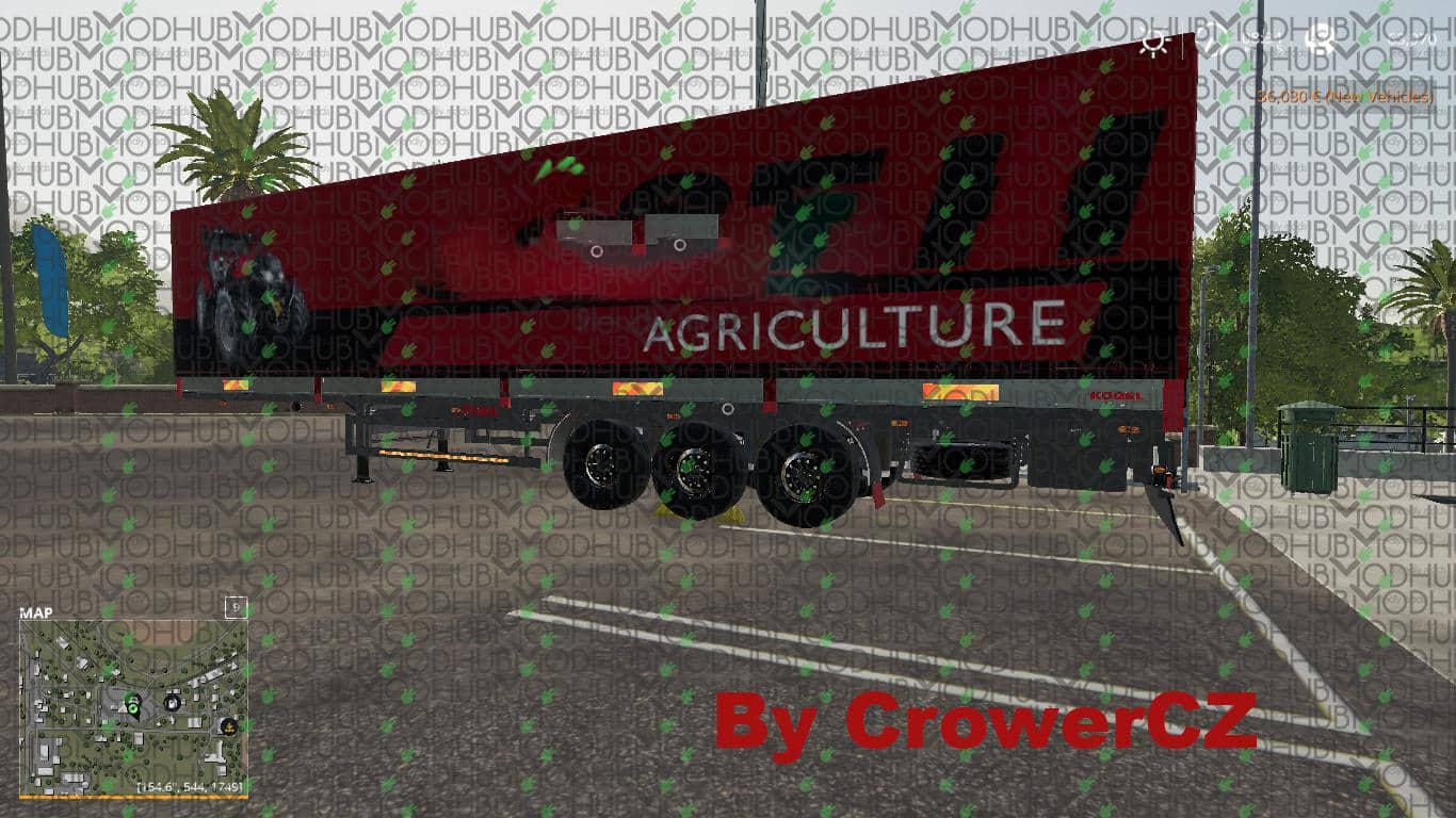 CASE IH KOGEL AUTOLOADER TRAILER v1 0 FS19 - Farming