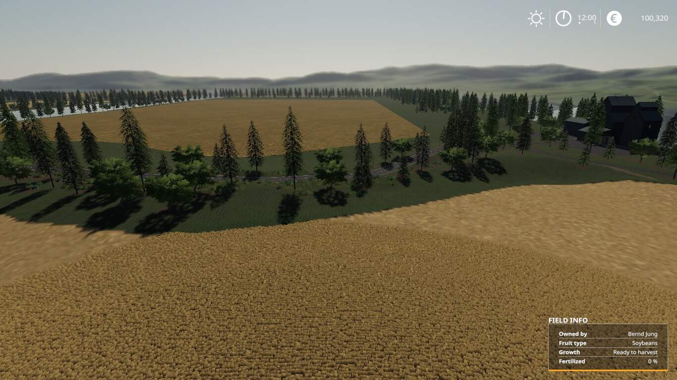 Fenton Forest 4x Map LS 19 - Farming simulator 17 / 2017 mod