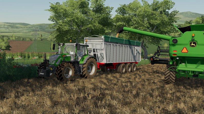 Lacampagne Alu Trailer LS 2019 - Farming simulator 17 / 2017 mod