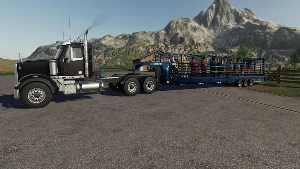 Lizard Cattleman v1 0 0 0 LS19 - Farming simulator 17 / 2017 mod