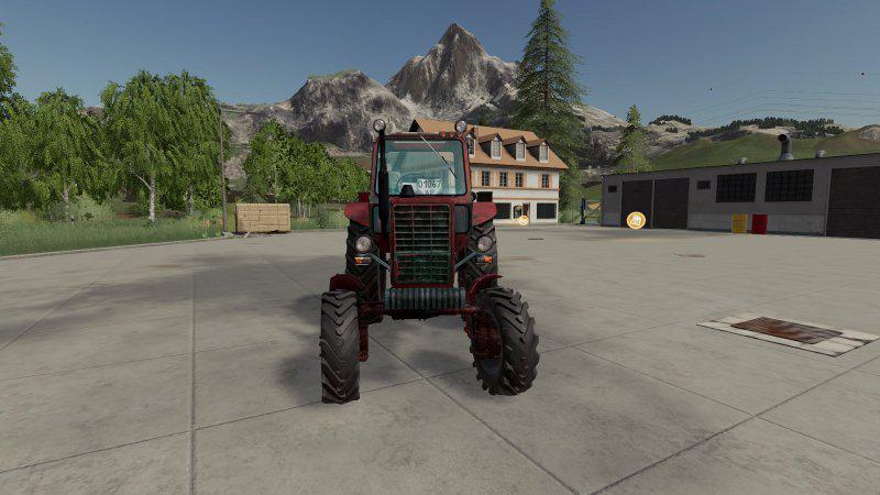 MTZ - 82 v1 0 0 0 FS19 - Farming simulator 17 / 2017 mod