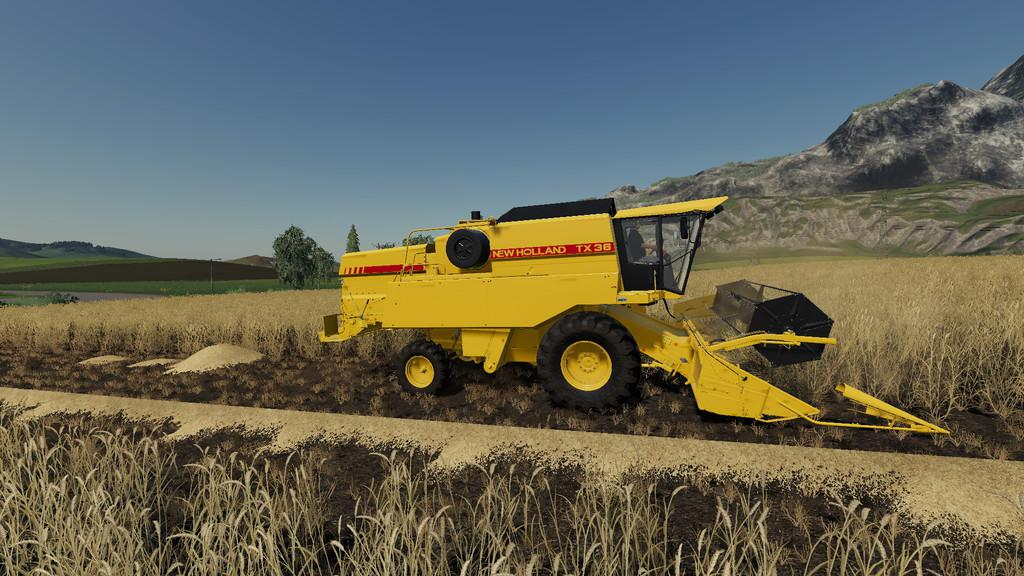 New Holland TX Series v1 0 0 0 LS 2019 - Farming simulator 17 / 2017 mod